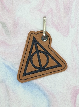 HP Always Zipper Pull Embroidery Design