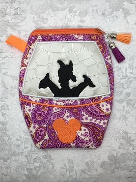 Figment Skyliner Zipper Bag Embroidery Design (5x7 & 6x10, lined)