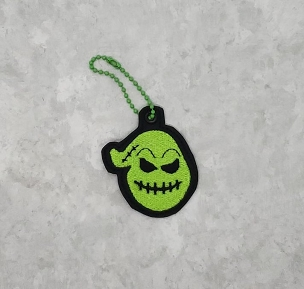 Boogie Man Zipper Pull Embroidery Design